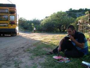 casey-eats-watermelon-outside-mccains-hidden-valley-ranch