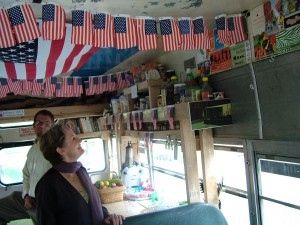 Alice Waters tours TheWhoFarmMobile.
