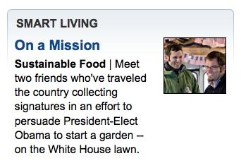 TheWhoFarm Washington Post homepage